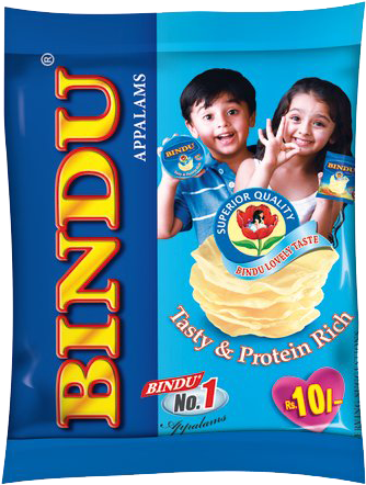 bindu lovely taste Appalam