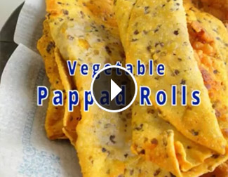 Bindu Vegtable Papad Roll